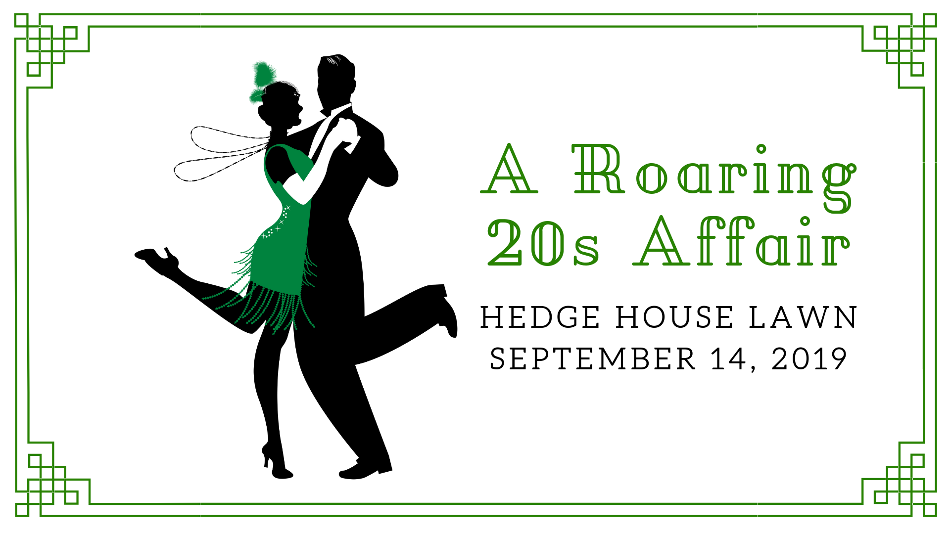 Roaring 20s event cover